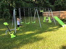 World Of Fun Swing Set
