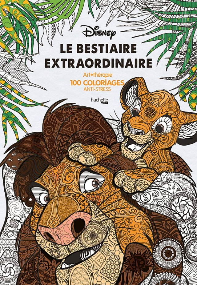 Le bestiaire extraordinaire: 20 coloriages anti-stress : Guérin