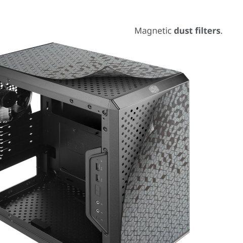 MasterBox Q300L マグネット式ダストフィルター