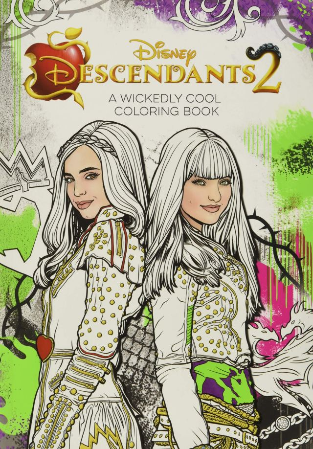 Descendants 18 A Wickedly Cool Coloring Book (Art of Coloring