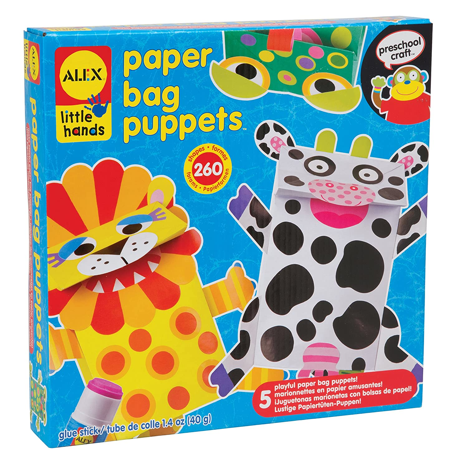 ALEX Toys Little Hands Paper Puppets