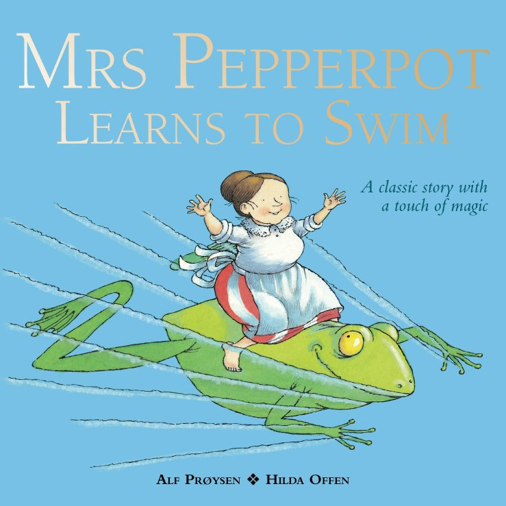 Image result for Mrs Pepperpot learns to swim