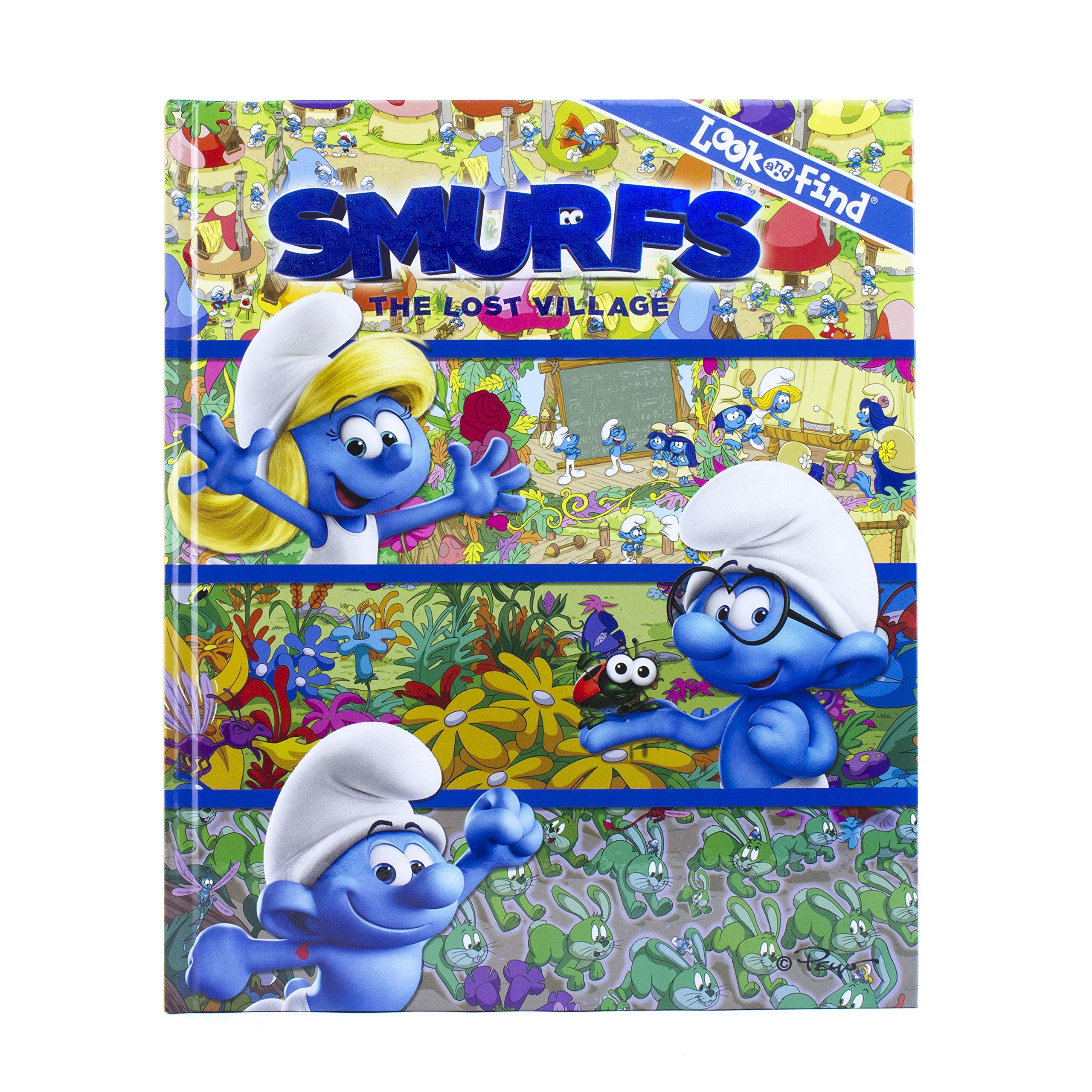 Smurfs 3 Look And Find The Lost Village Pi Kids Editors Of Phoenix International Publications Editors Of Phoenix International Publications Editors Of Phoenix International Publications Editors Of Phoenix International Publications 9781503715929