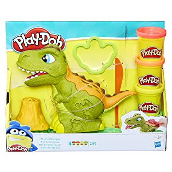 Dinosaur Play Doh