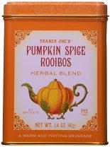 Trader Joe's Pumpkin Spice Rooibos Herbal Blend Beverage 20 sachets