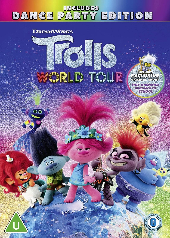 Trolls World Tour Dvd 2020 Amazon Co Uk Dvd Blu Ray