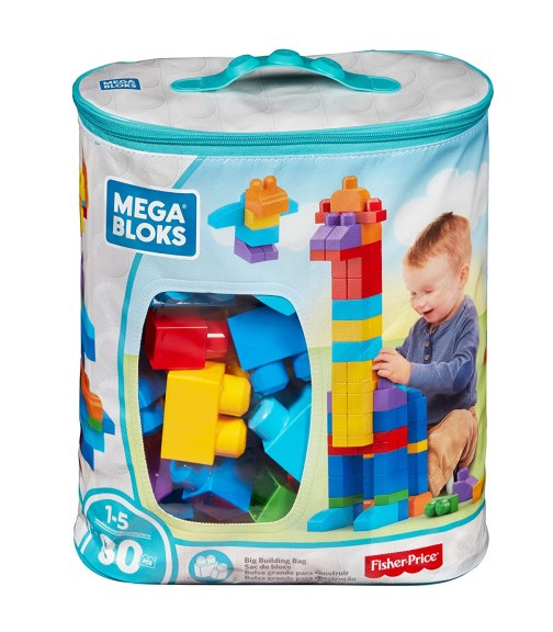 Image result for Mega Bloks 80-Piece Big Building Bag amazon