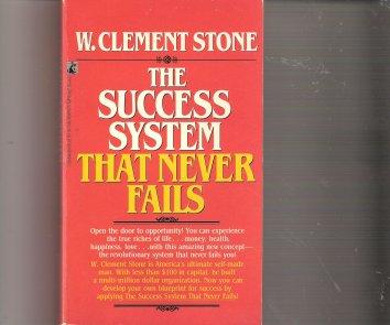 Success System That Never Fails: Success System That Never Fails: Stone: 9780671732653: Amazon.com: Books
