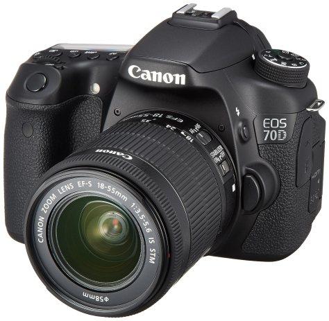 Canon デジタル一眼レフカメラ EOS70D レンズキット EF-S18-55mm F3.5-5.6 IS STM 付属 EOS70D1855ISSTMLK