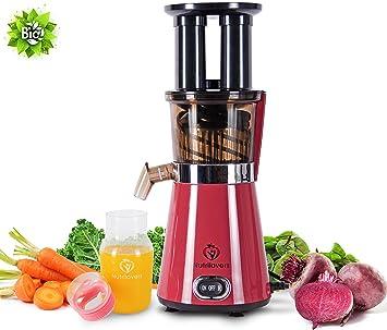 Amazon.de: NUTRILOVERS Saftpresse Slow Juicer elektrisch, Gemüse