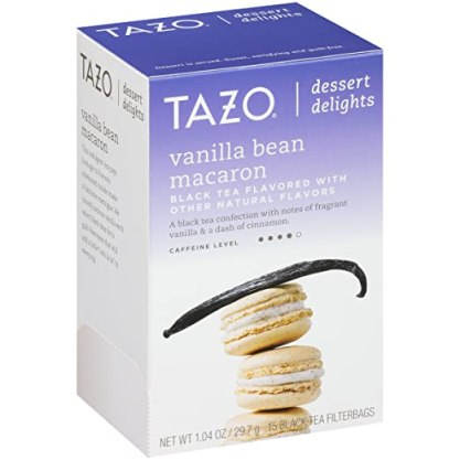 Image result for tazo vanilla bean macaron tea
