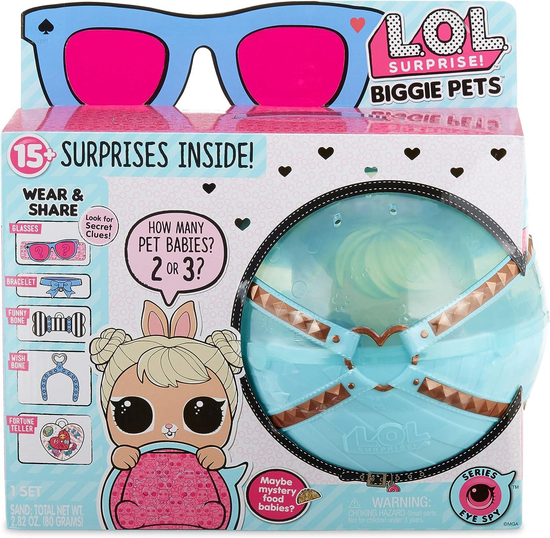 Amazon Com L O L Surprise Biggie Pet Cottontail Q T Toys Games