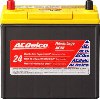 ACDelco ACDB24R AGM Automotive BCI  Battery