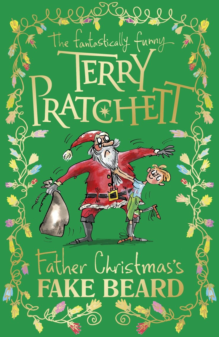 Image result for Father Christmas's fake beard / the fantastically funny Terry Pratchett ; illustrated by Mark Beech.