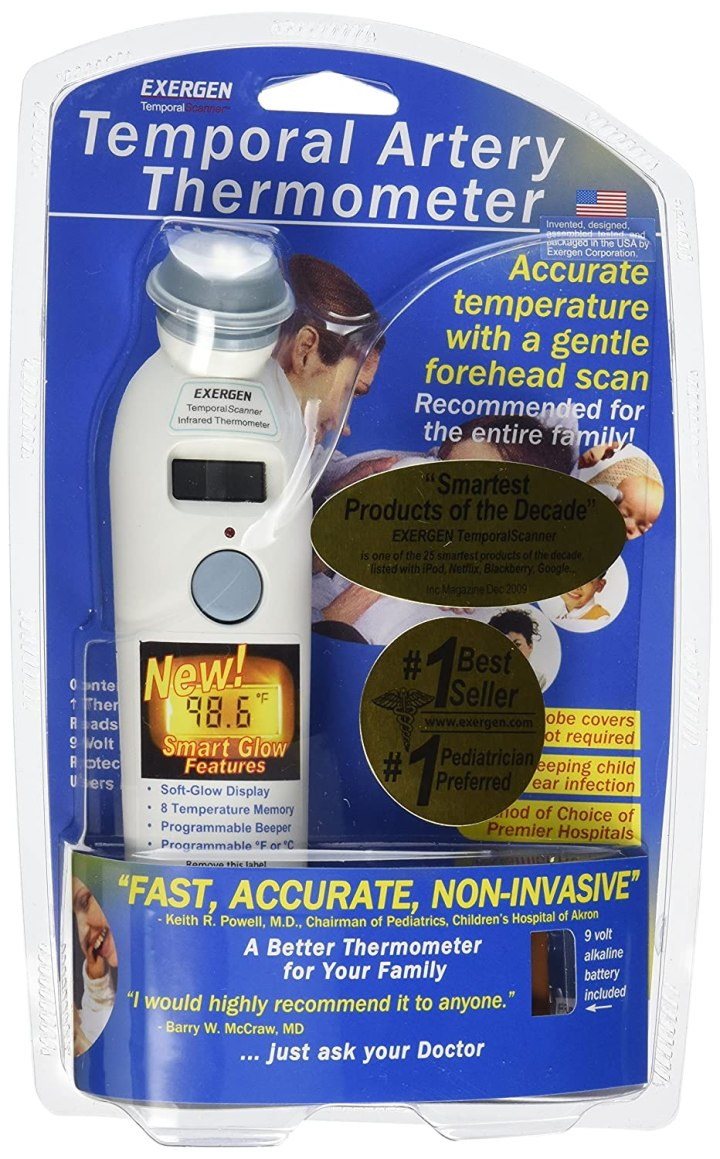 Exergen Temporal Scan Forehead Baby Thermometer