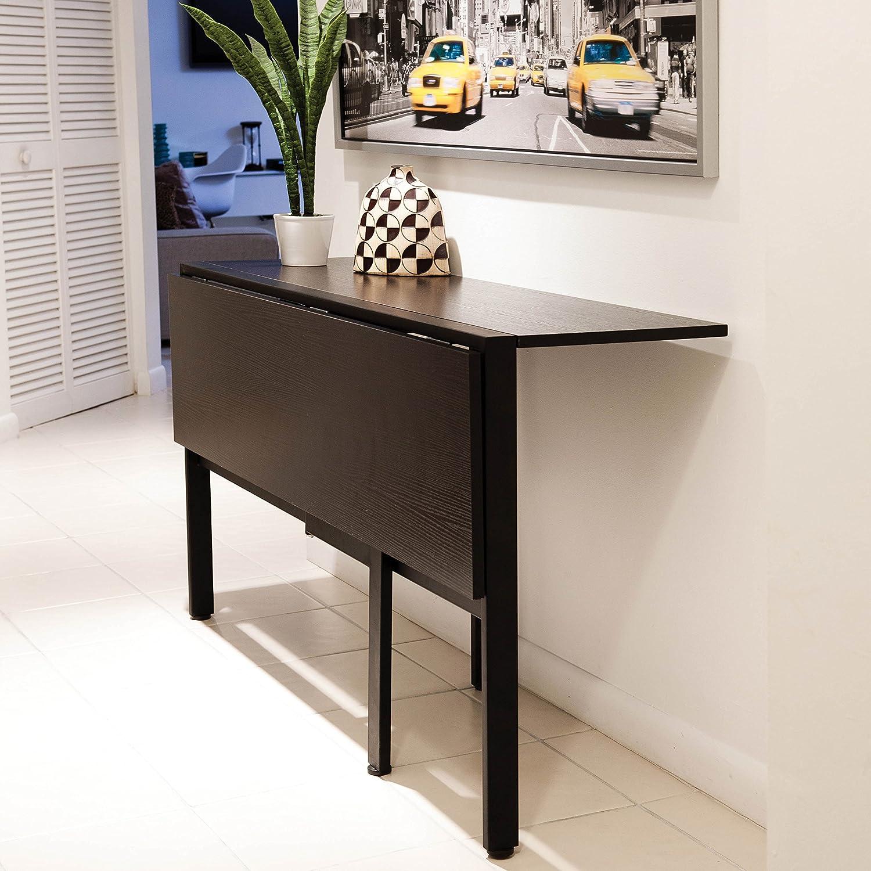 Amazon Com Mix Folding Dining Table Espresso Furniture Decor