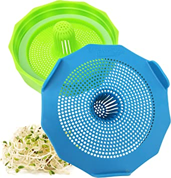 Masontops Wide Mouth Sprouting Lids