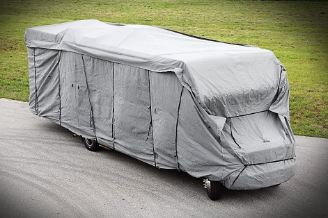 Camco 45742 ULTRAGuard Class C/Travel Trailer Cover