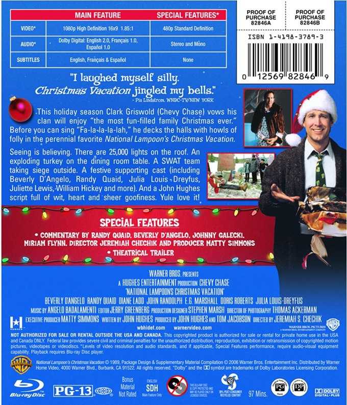 national lampoon s christmas vacation blu ray ca chevy