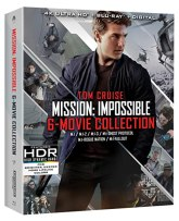 Mission: Impossible 6 Movie Collection [Blu-ray]