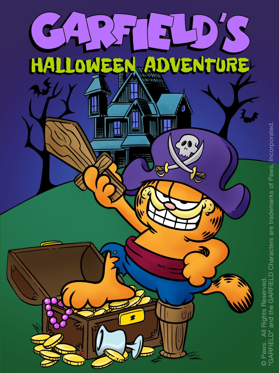 com garfield s halloween adventure n a