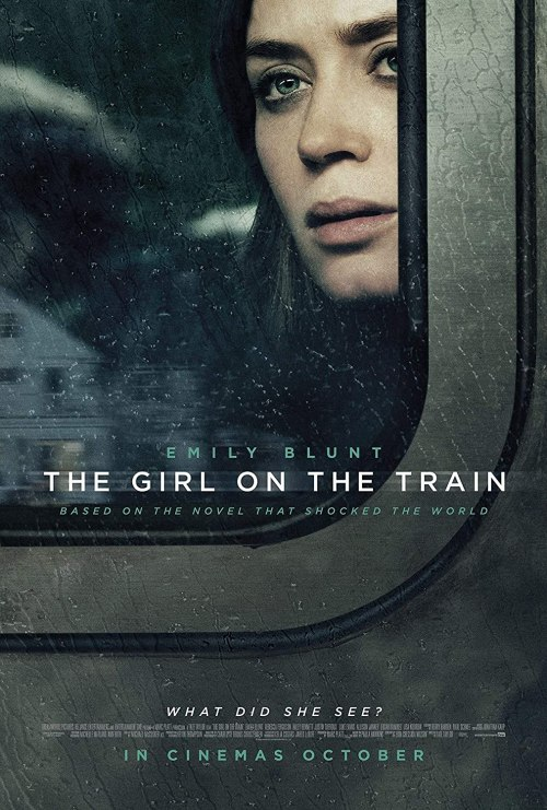October 2016 Adaptations - The Girl on the Train Movie Poster