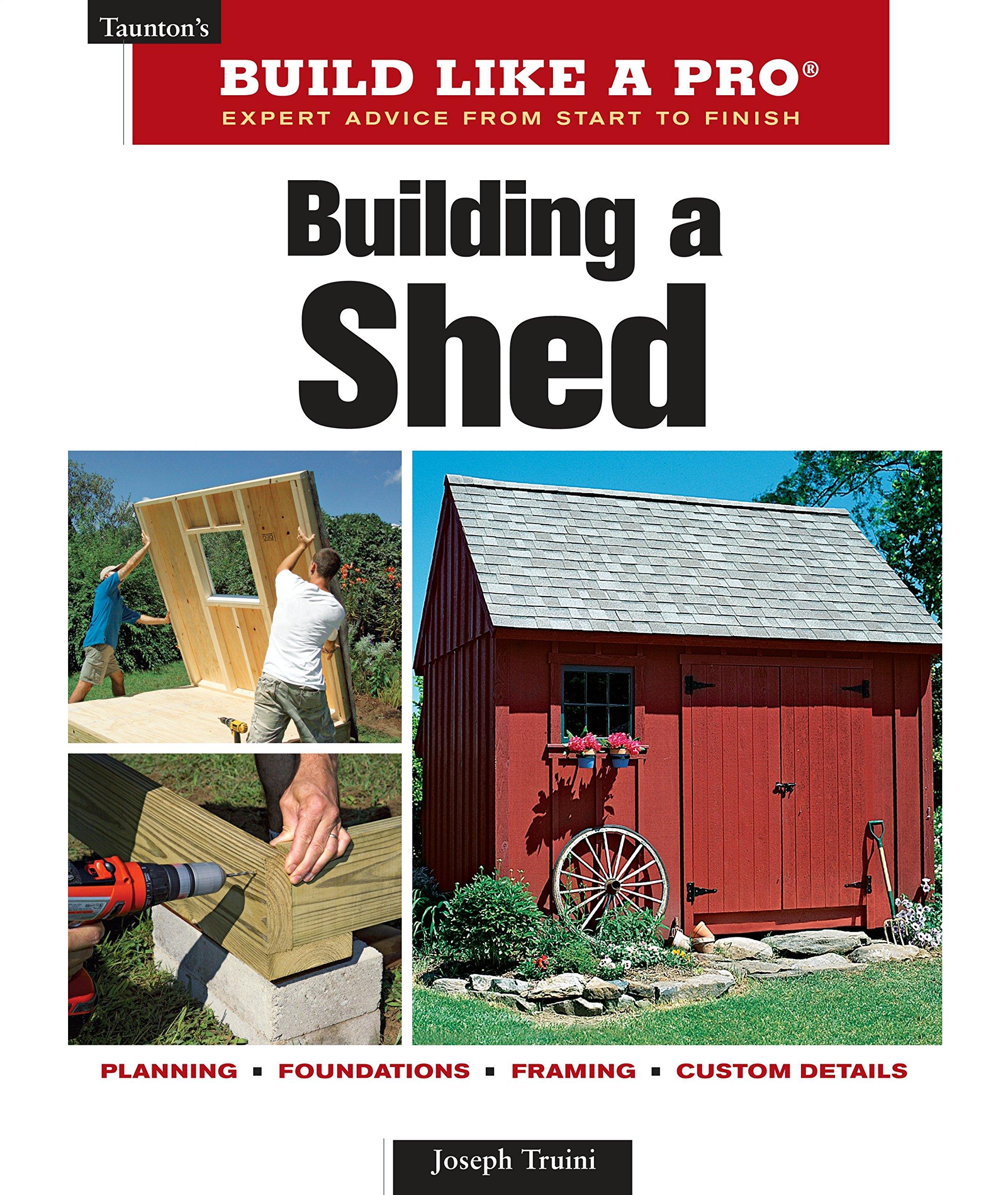 Building A Shed Taunton S Build Like A Pro Truini Joseph 9781561589661 Amazon Com Books