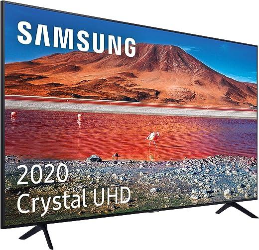 Samsung TV LED 4K UE55TU7005 138 cm / 55 Pouces - Smart TV - Alexa - Netflix - HDR - Prime Video