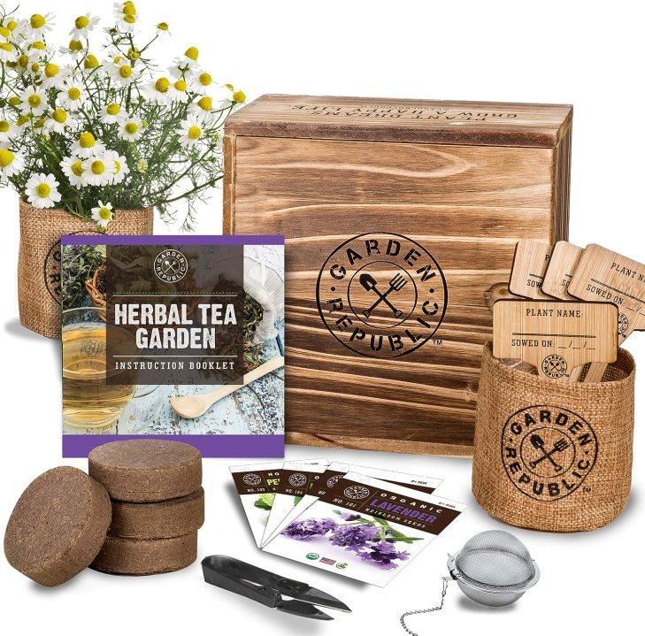 Indoor Herbal Tea Garden Kit