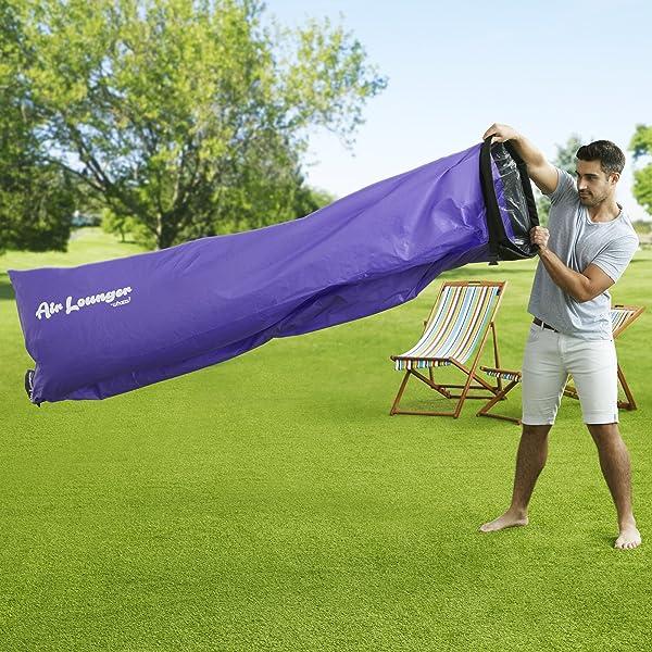 Whozzu Air Lounger with bag