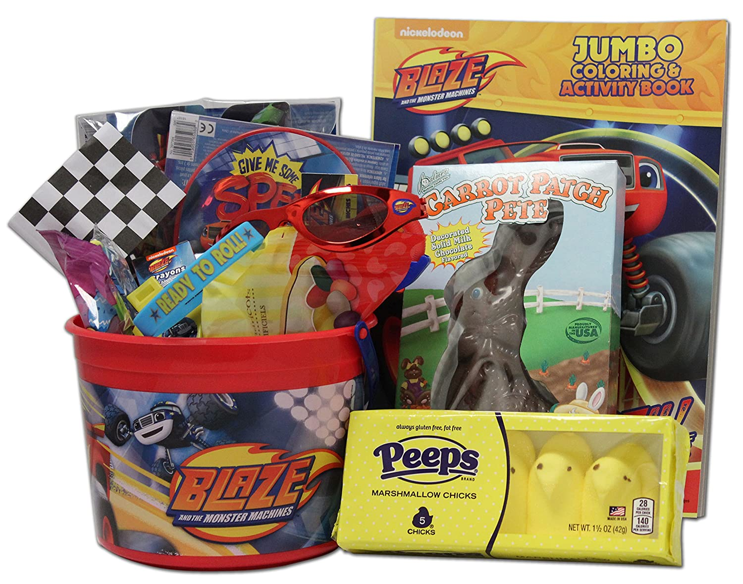 Blaze and the Monster Machines Easter Basket for Kids