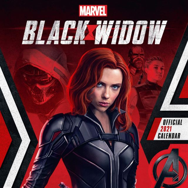 Amazon.in: Buy Official Marvel Black Widow 2021 Calendar - Square Wall  Format Calendar Book Online at Low Prices in India | Official Marvel Black  Widow 2021 Calendar - Square Wall Format Calendar Reviews & Ratings