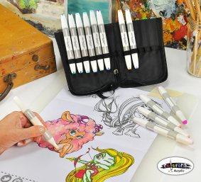 Colorona 24 Alcohol Markers Professional Art Set