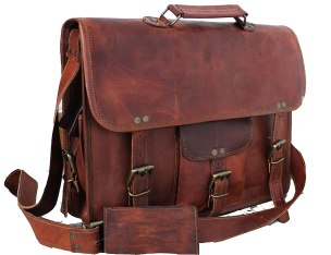 Image result for leather laptop messenger bag