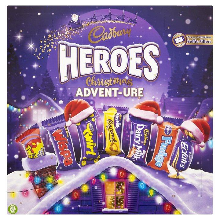 Cadbury Dairy Milk Heroes Advent Calendar