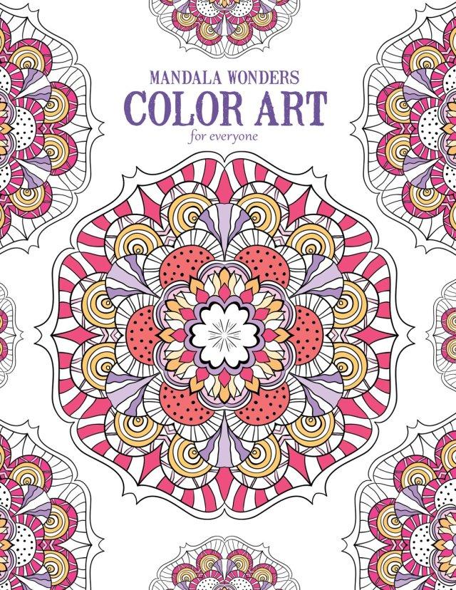 Amazon.com: Mandala Wonders Color Art for Everyone: 27
