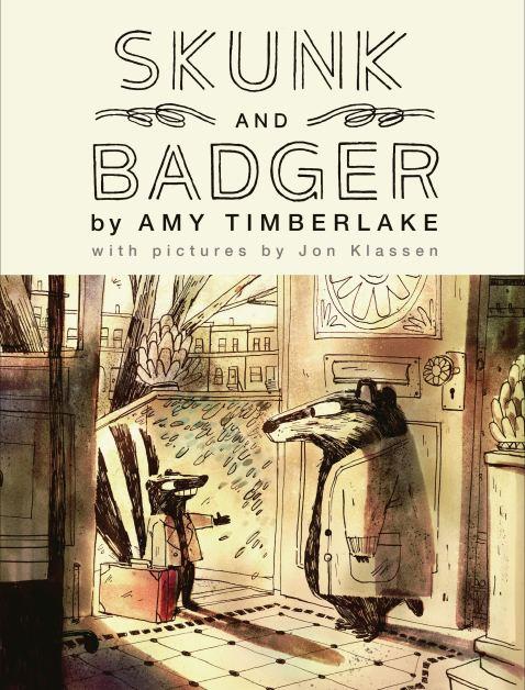 Skunk and Badger (Skunk and Badger 1): Timberlake, Amy, Klassen, Jon:  9781643750057: Amazon.com: Books