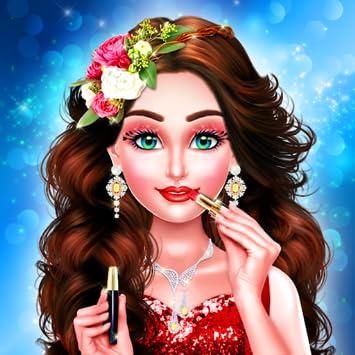 Wedding Dress Up And Makeup Salon Game