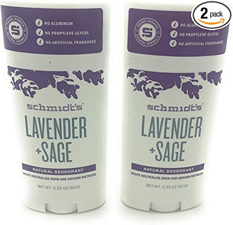 Schmidt's Deodorant, Lavender and Sage