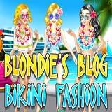 Blondies Blog Bikini Fashion - Dress up games for girls/kids