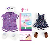 Club Eimmie - 18' Doll Accessory Monthly Subscription w/Trendy Romper Intro Pack