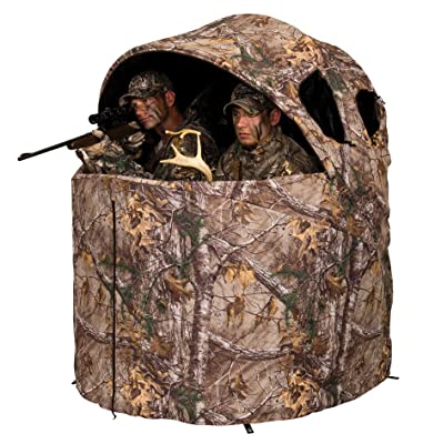 Ameristep Deluxe 2 Person Tent Chair Hunting Blind