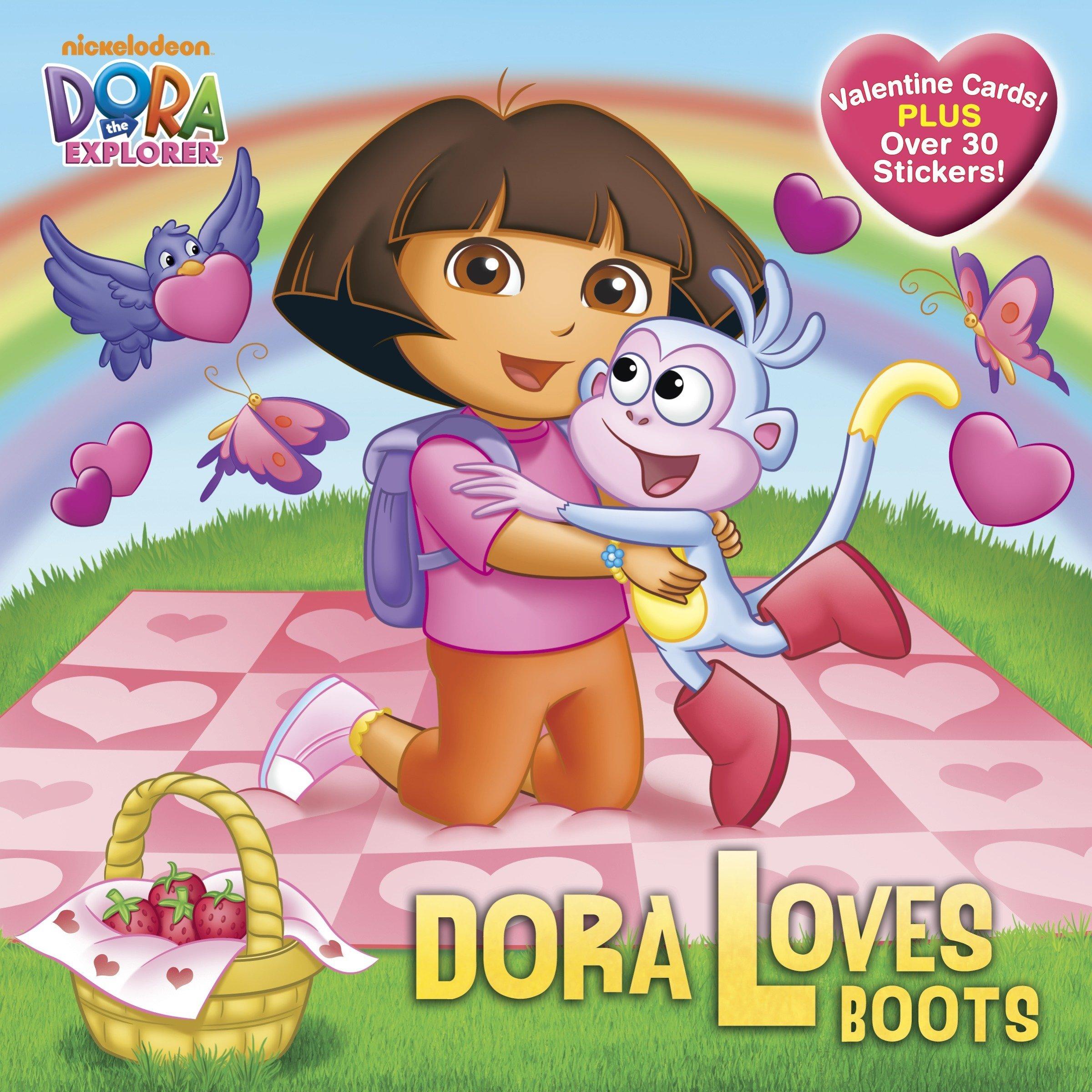 Dora Loves Boots Dora The Explorer Pictureback R Inches Alison Mj Illustrations 9780385373456 Amazon Com Books