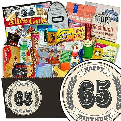 Geschenke 65 Geburtstag Frau 24er Ddr Paket Geschenk Zum