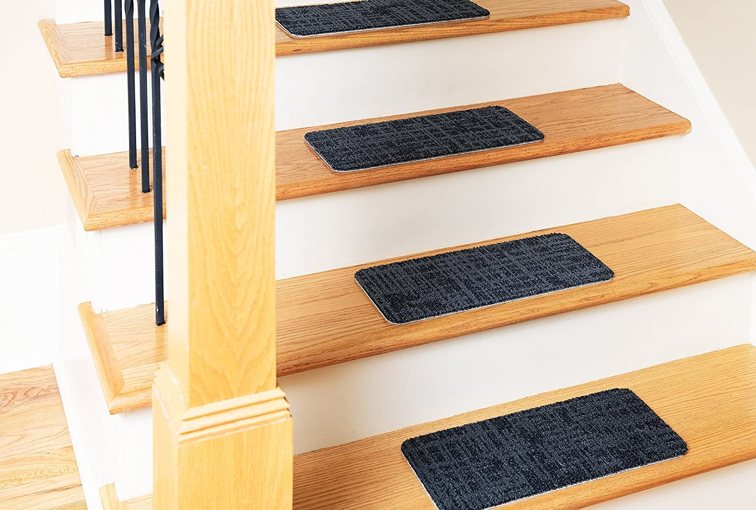 Amazon Com Nance Industries Set Of 13 Indoor Outdoor Utility | Stick On Stair Treads | Step | Unique | Maple Stair | Integrated Post | Solid Weathered
