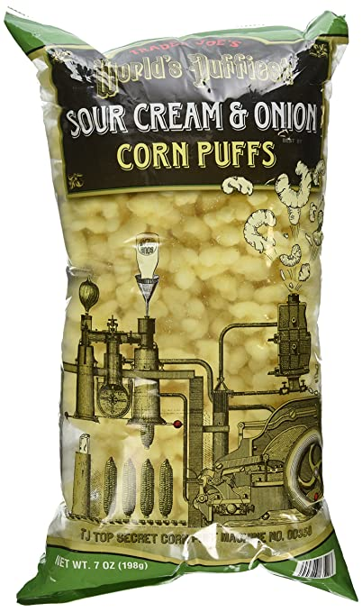Trader Joe's Sour Cream & Onion Corn Puffs