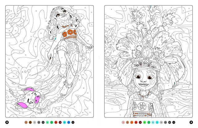 VAIANA - Coloriages Magiques - Mystères - Disney : Disney, Bal