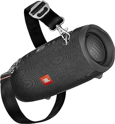 JBL Xtreme 2 Enceinte Portable - Waterproof IPX7 - Autonomie 15 hrs & Port USB - Sangle de Transport Incluse, Bluetooth, Noir