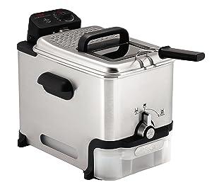 T-fal FR8000 Oil Filtration Ultimate EZ Clean Immersion Deep Fryer