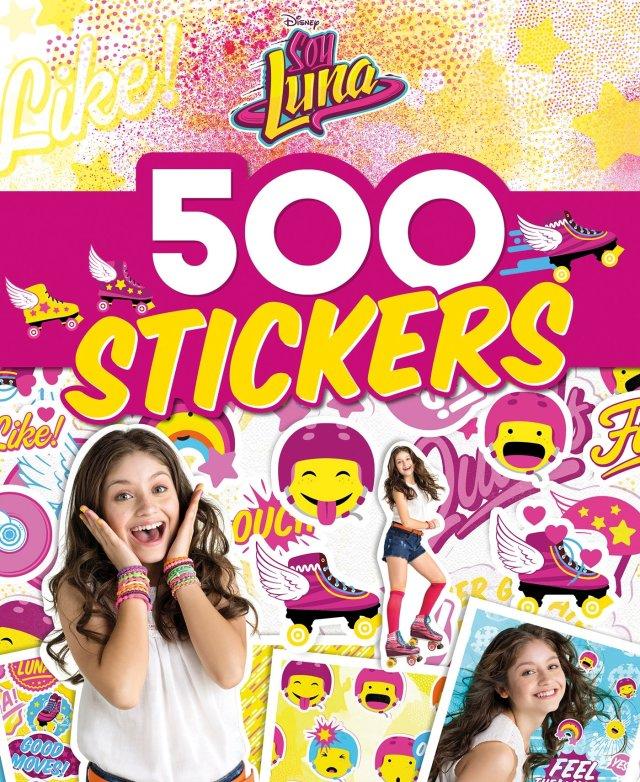 SOY LUNA - 30 Stickers Collector - Emoji, pop art, messages